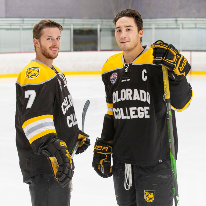 Hockey Co-Captains Talk Hopes, The Future, and Robson Arena